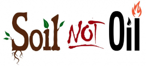 Soil Not Oil logo